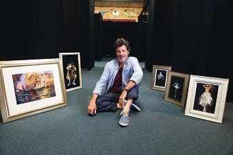 Greg Baker is one of the artists exhibiting at Currambine Primary School