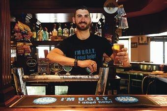 Morley Ale House bartender Justin Scarvaci. d428377
