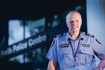Snr Sgt Brendan Moore has been appointed the new officer-in-charge of Perth Police Station from December 1.|Picture: Andrew Ritchie www.communitypix.com.au d428101