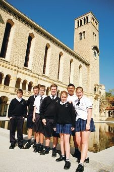 The College students at UWA.