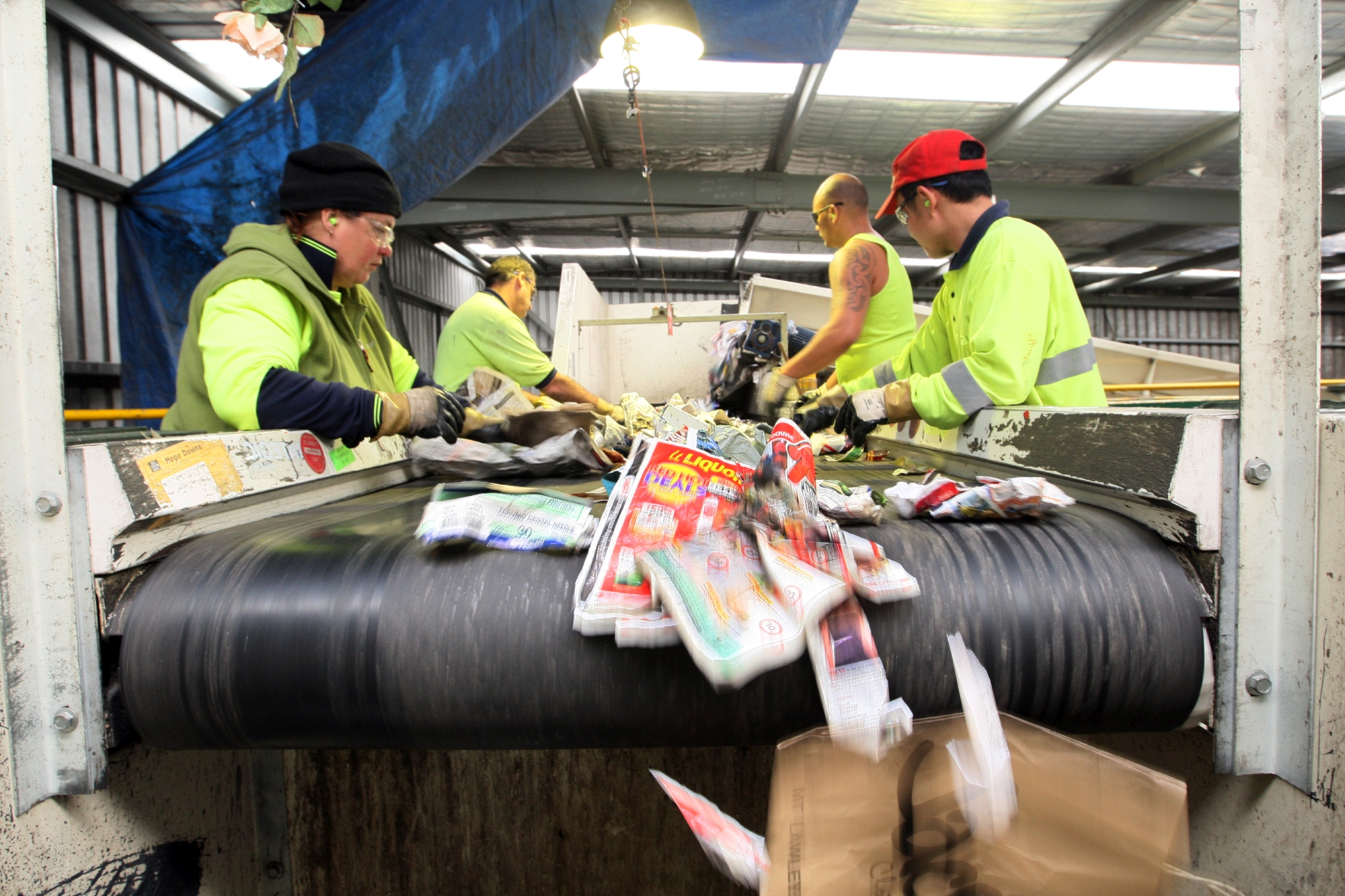 There will be less costs but more travel with the councils' new recycling contractor. Picture: file image