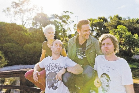 Jebediah bring their 20-year anniversary tour to the Astor Theatre this month. Picture: Matt Saville