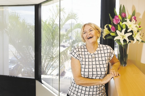 Breast Cancer Care WA founder and patron Ros Worthington. Picture: Marcus Whisson               www.communitypix.com.au   d433558