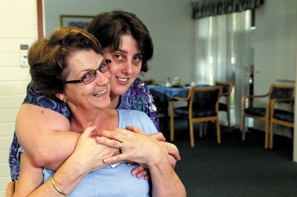 Mother and daughter working together 20 years in rewarding role