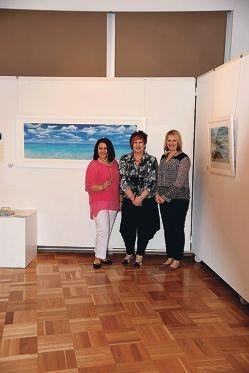 Kaleidoscope artists Ljubica Ratz, Ann Steer and Penelope Barrow.