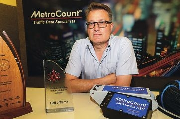 Vern Bastian (General Manager MetroCount)