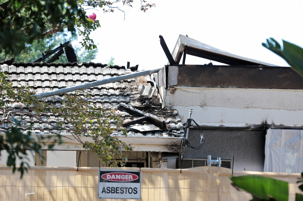 A body was discovered in this Wilkie Street house in South Guildford following a fire.