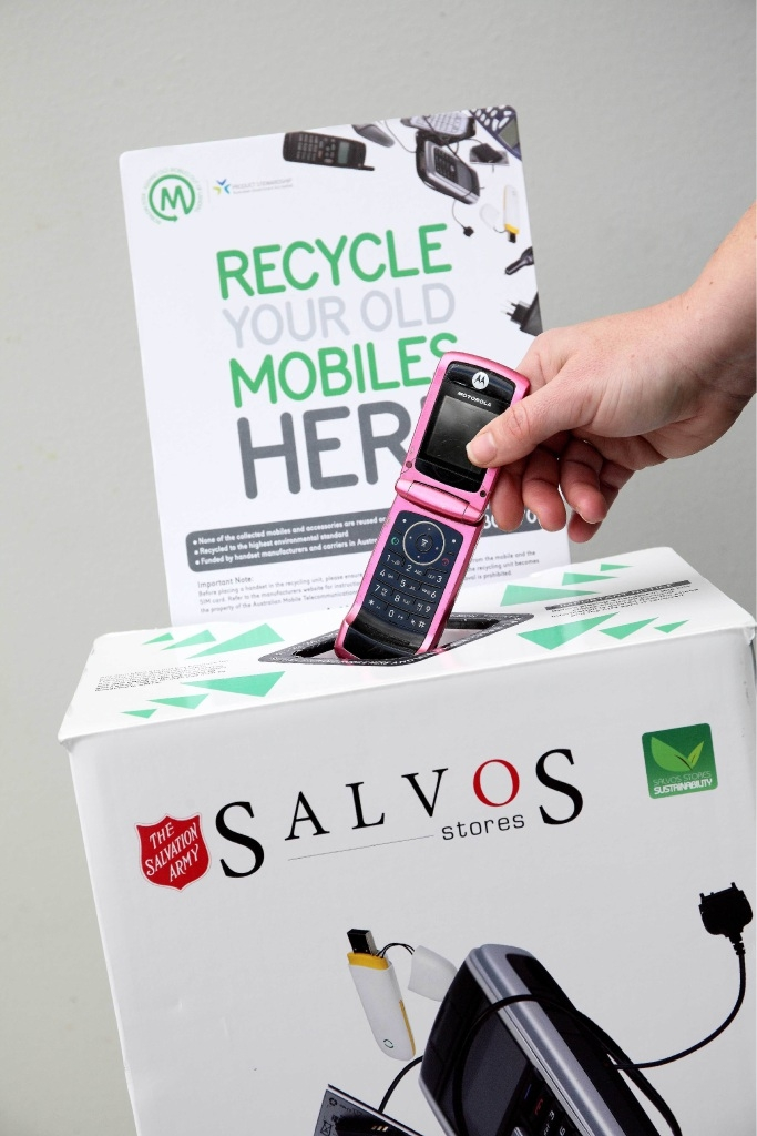 Mobile Phone Recycling Supports The Salvation Army