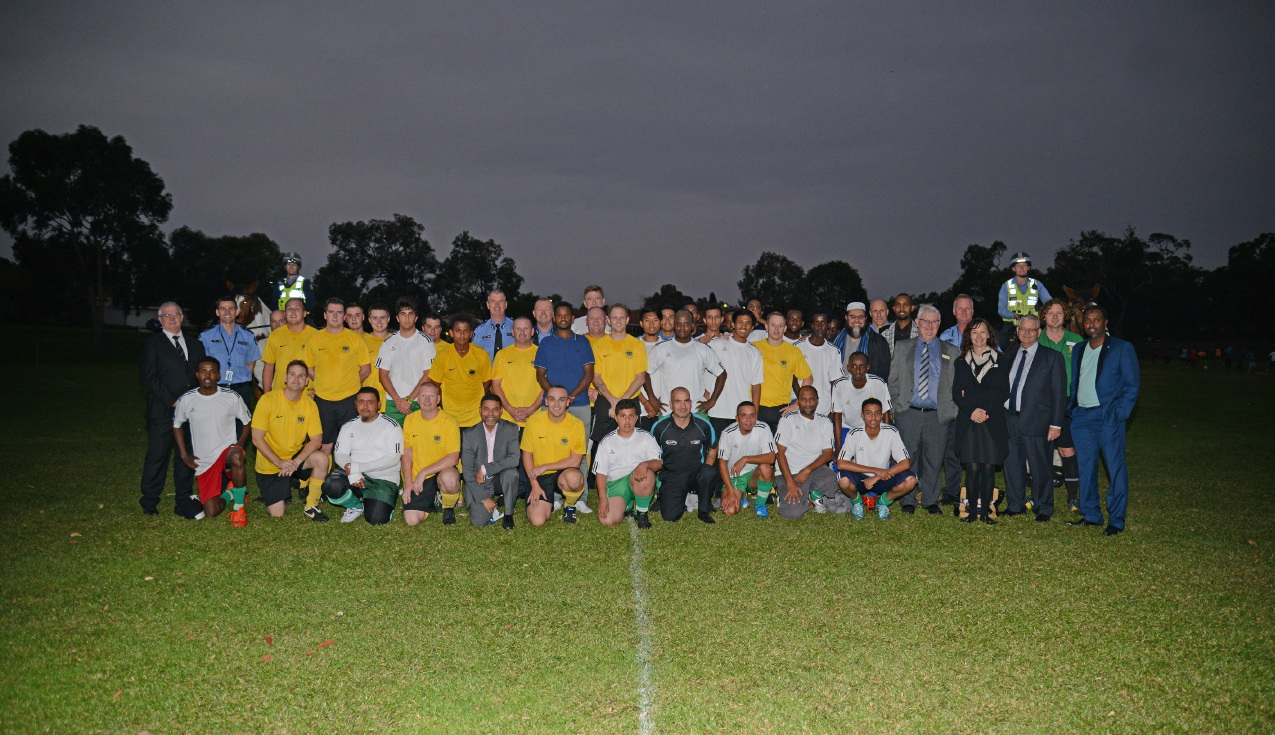 Common Goal soccer program promotes unity, harmony and diversity in Mirrabooka