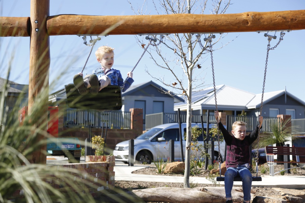 The Brook at Byford gets new nature playground facilities
