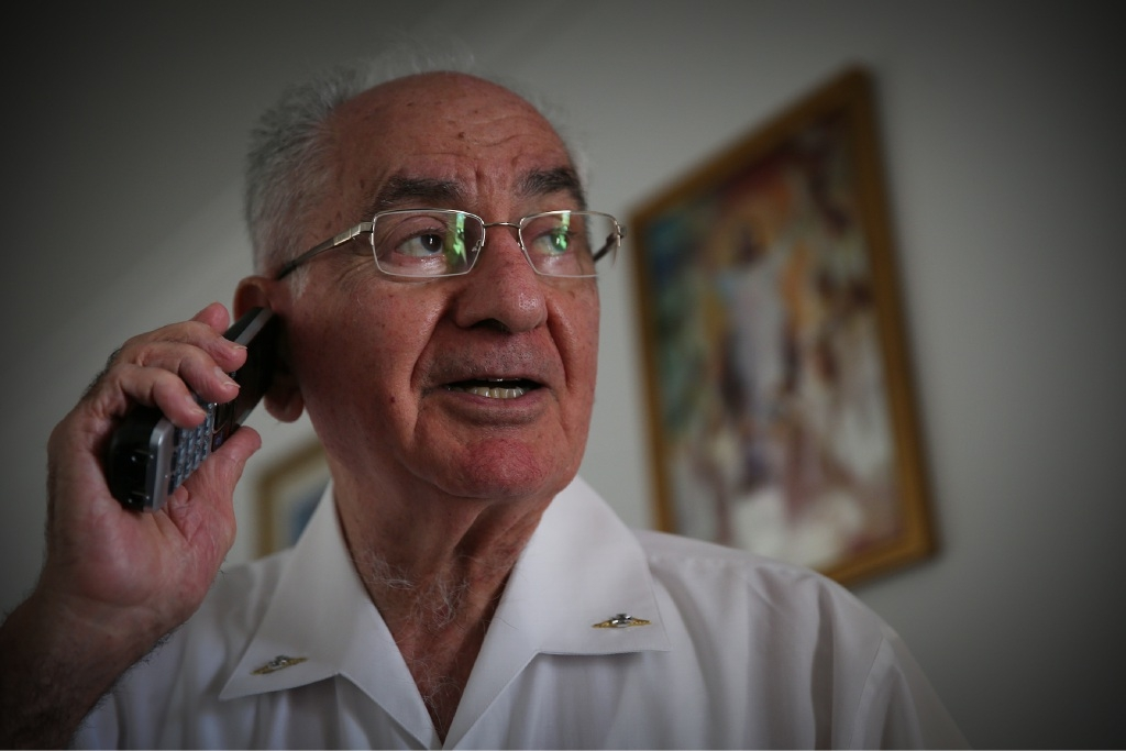 Father Michael Gatt has expanded his Christmas Helpline to offer support to people all year round. Picture: Andrew Ritchie
