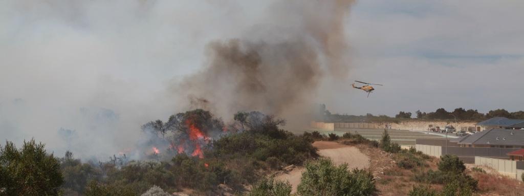Crews beat blaze in Yanchep/Two Rocks