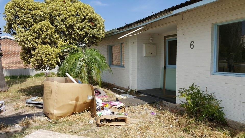 Picking up the pieces at Rockingham investment property