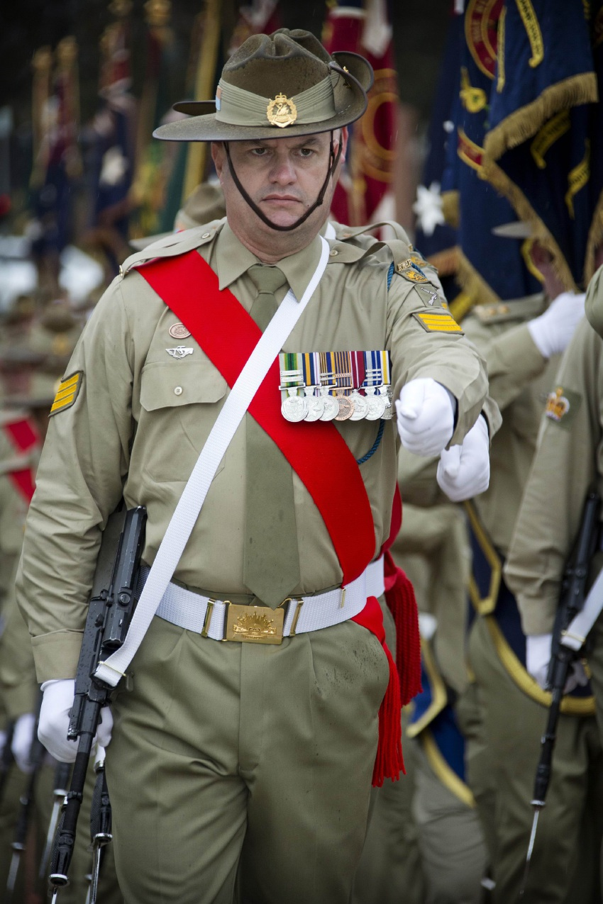 Rockingham Detective Sergeant and Army Reservist Rob Wilson leaves for France and Belgium on Saturday.