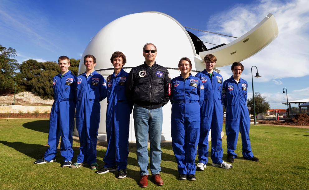 A star-studded education for Sacred Heart College students after observatory opening