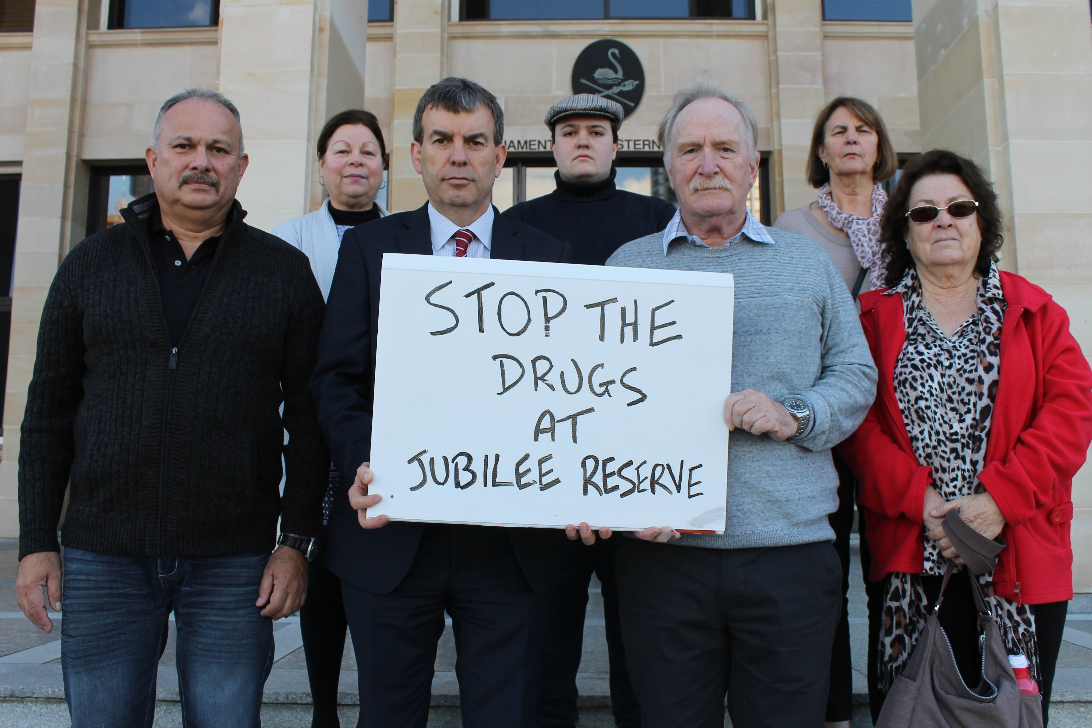 Jubilee Action Group disappointed with Police Minister's response to alleged 'drug house'