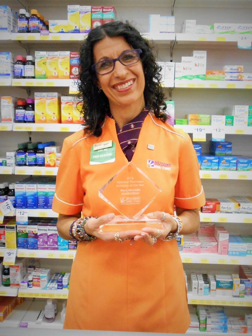 National award for Mandurah pharmacist