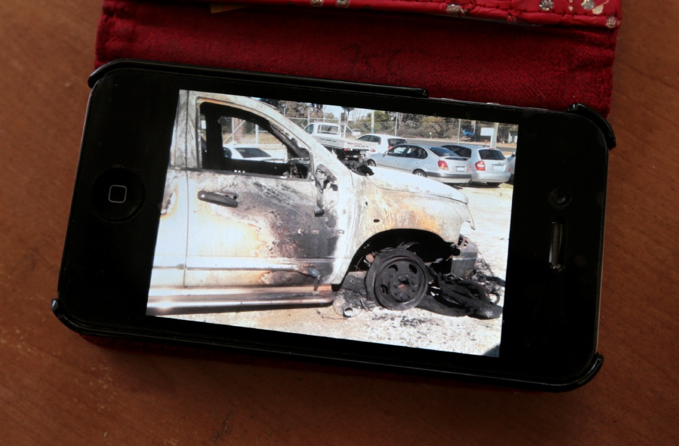 Couple recall lucky escape after ute fire on Great Eastern Highway