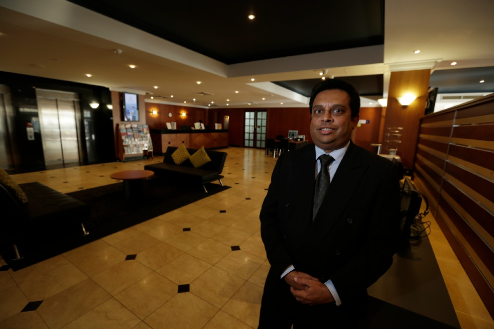 Great Southern Hotel general manager Arith Ratnawibhushana. Picture: Andrew Ritchie           d456333