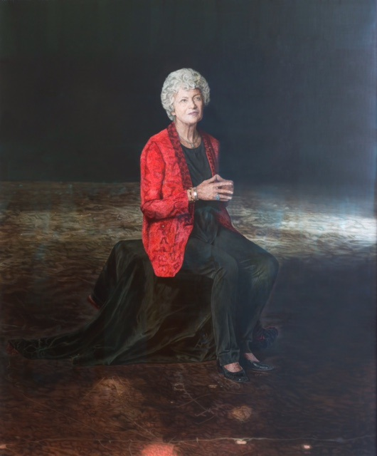 The portrait of Fiona Stanley.