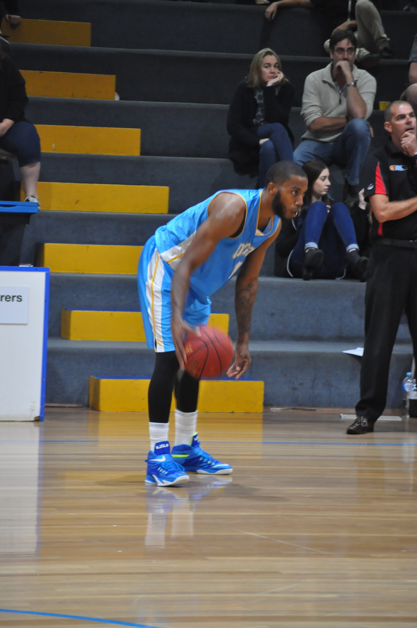 Cockburn Cougar Najee Lane and his teammates face a huge game against Willetton tomorrow night.