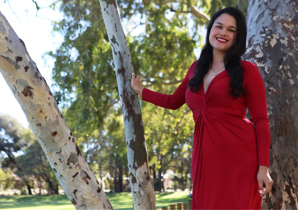 Fleuranne Brockway, the only WA contestant in the Australian Singing competition, will be singing her heart out to win a scholarship to study opera in the UK.