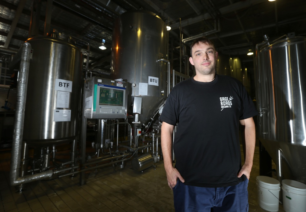 Gage Roads brewing manager Dirk Penny.