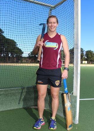 Hockeyroo Mathilda Carmichael has signed a contract with the WACA.