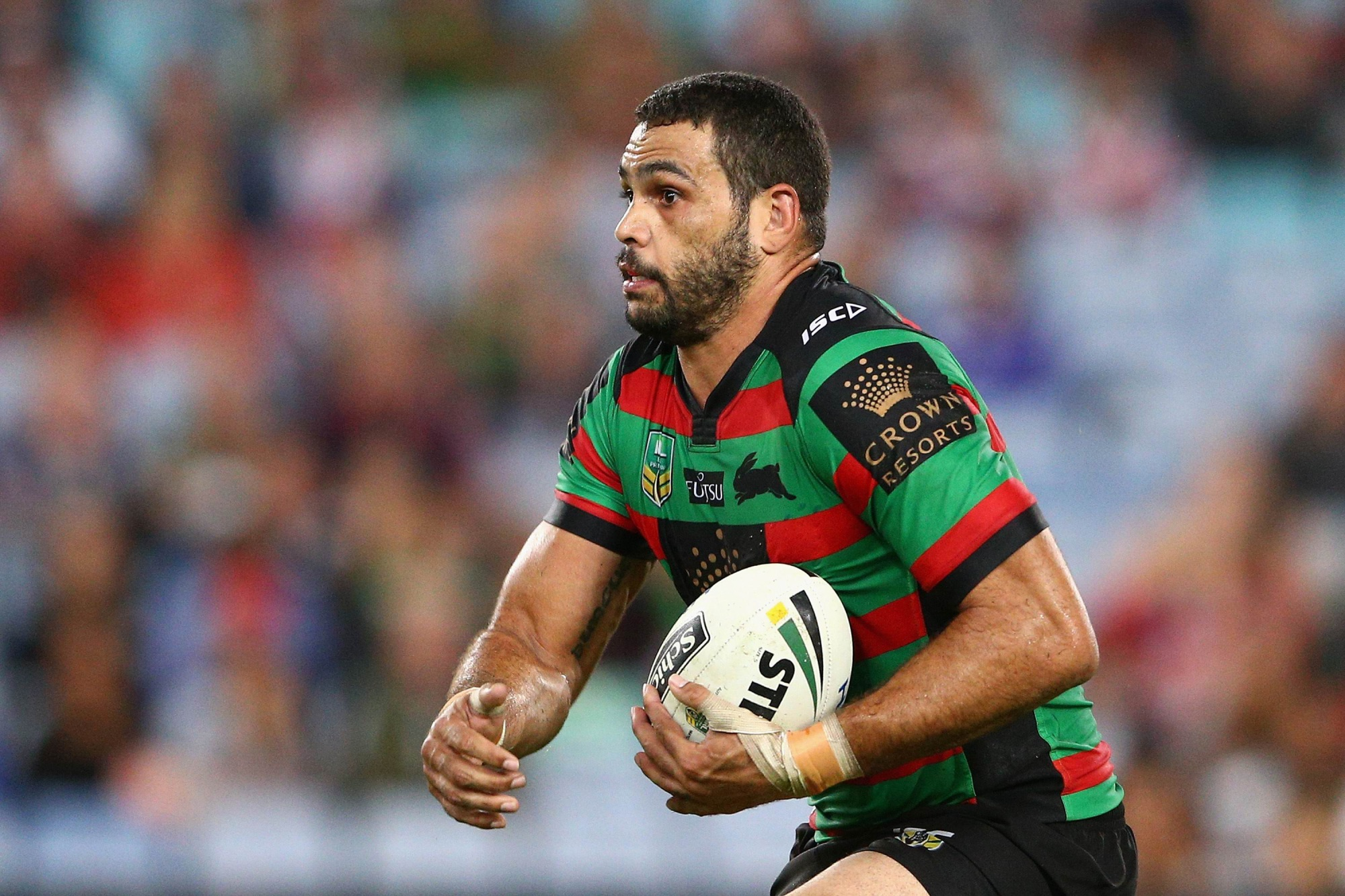 Greg Inglis is hoping to feature in the Rabbitohs' clash with the Titans in Perth.