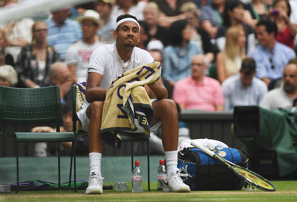 Nick Kyrgios. Picture: Getty Images