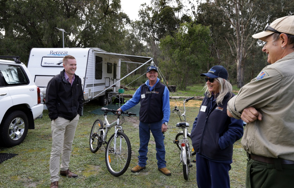 Hosts ensure happy campers at Yanchep National Park