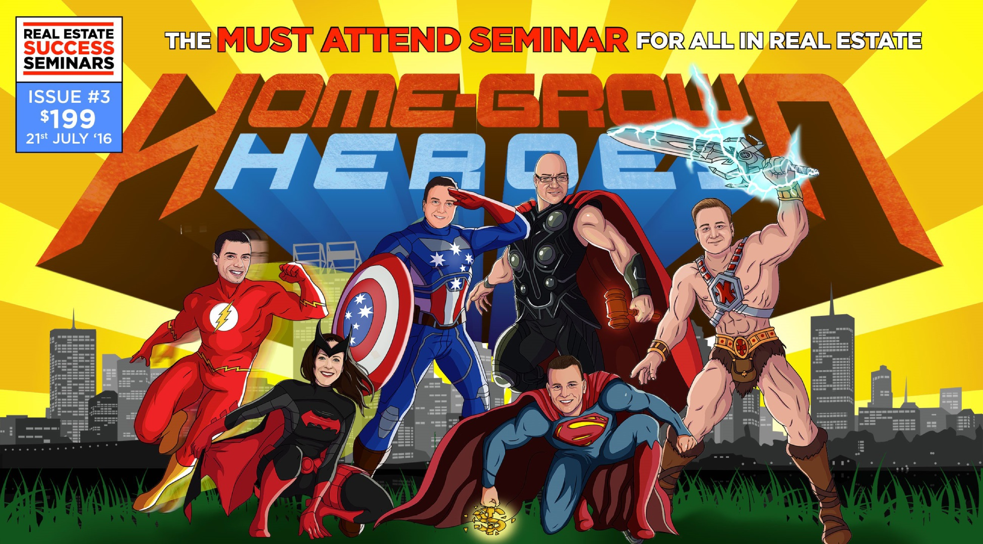 Local agents to share experience as Home Grown Heroes
