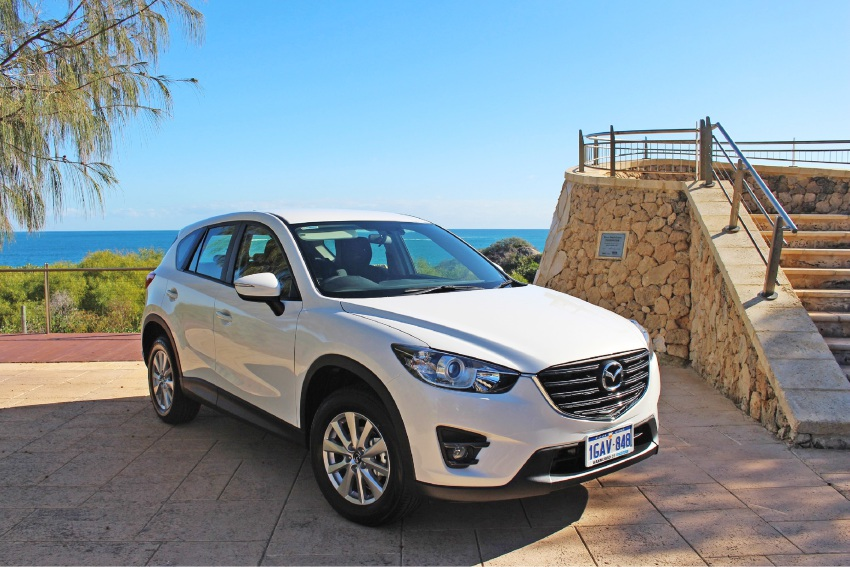 Peet Limited is offering a Mazda SUV to buyers.
