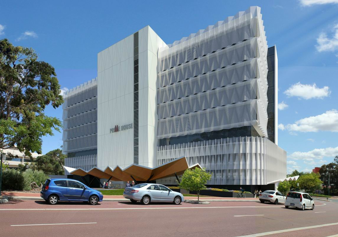 An artist impression of the development in Joondalup.