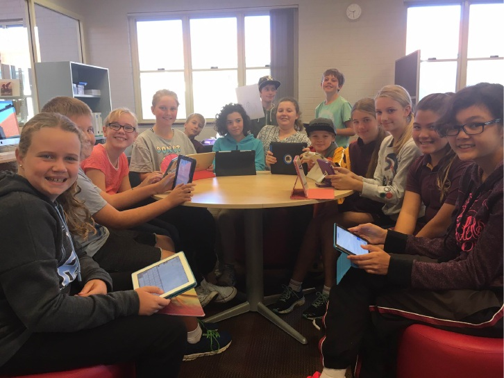 All in a day's work: Mandurah Catholic College students wrote a book in a day.