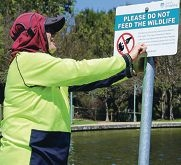 The City of Joondalup will install signs warning against feeding wildlife