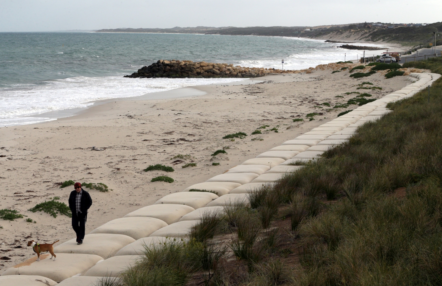 City of Wanneroo to receive $300,000 for long-term coastal management in Quinns Rocks. Picture: Martin Kennealey d456732