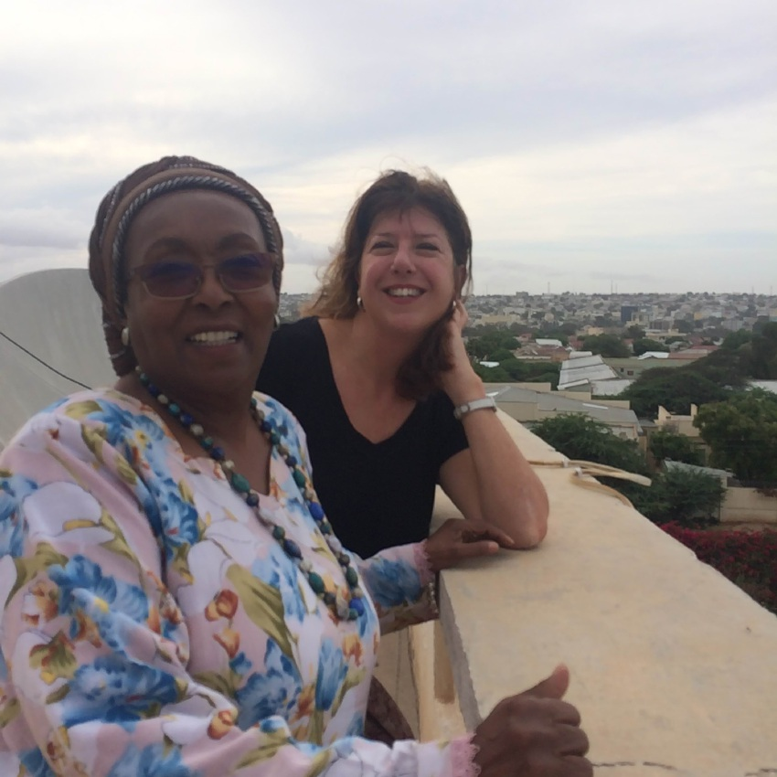 Former MP Adele Carles has just returned from helping Edna Adan, who runs a maternity hospital in Somaliland.