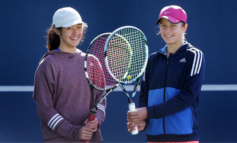 Melville: young tennis talent shines at tournament