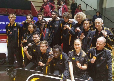 Smiles all around as WA's Under-16 Metro Men's team claim bronze.