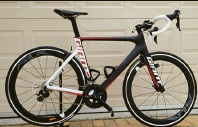 A road bike was stolen from a Mindarie home.