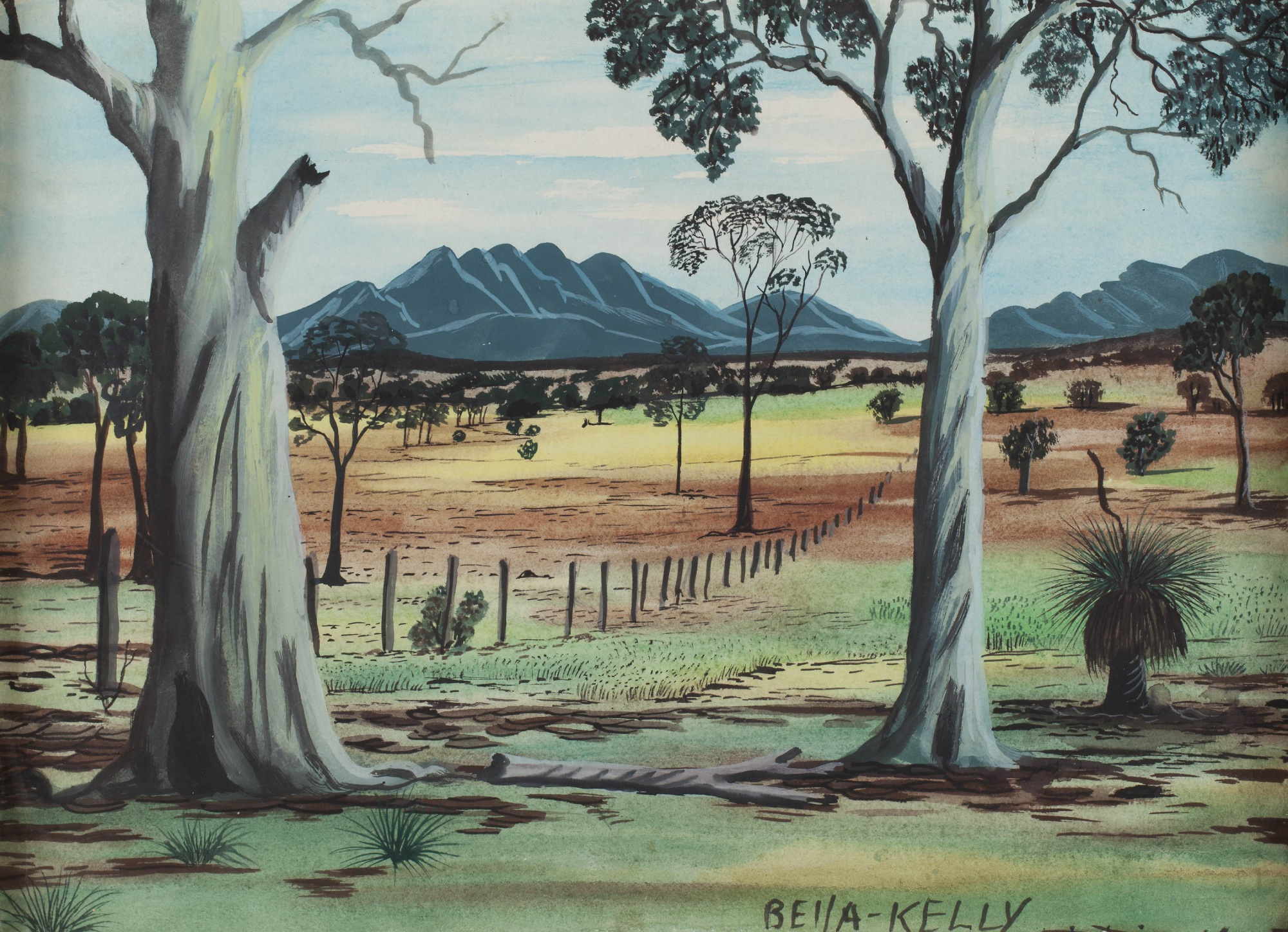 Bella Kelly Retrospective exhibition on at John Curtin Gallery until August 21