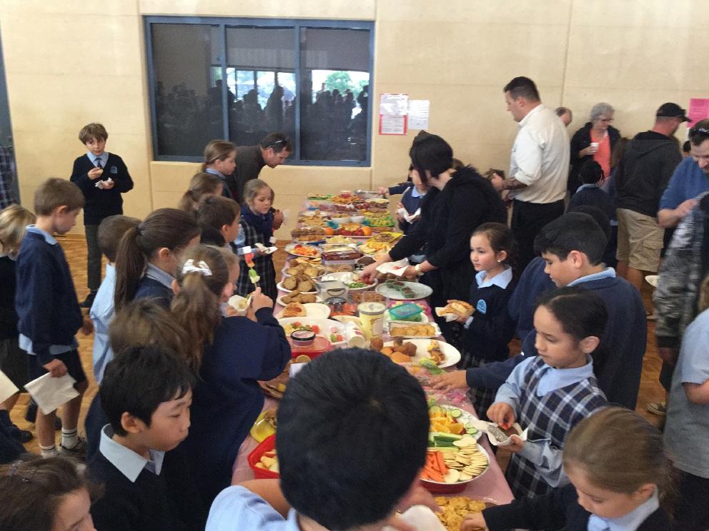 St Andrews Catholic Primary School holds Biggest Morning Tea fundraiser