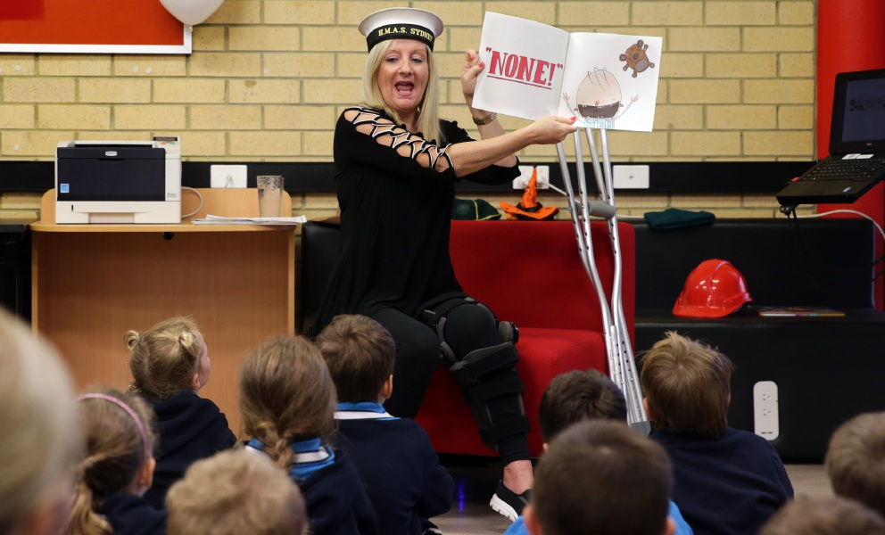 National Simultaneous Storytime: Yanchep kids get into the spirit
