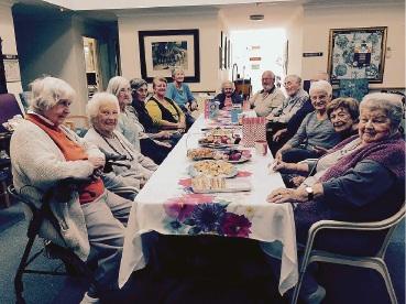 Volunteers celebrated at Bethanie for National Volunteers Week