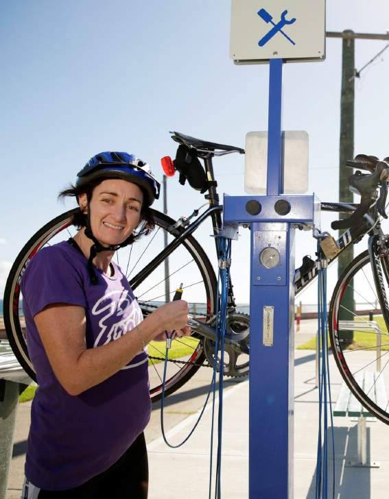 Trigg cyclists can keep bikes in good order thanks to new public repair station