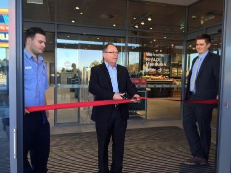 Aldi opens Mandurah store on Aldgate Street
