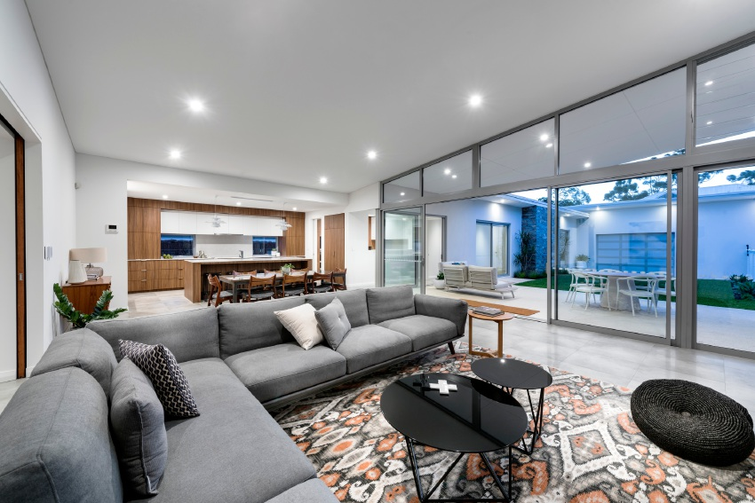 New Oswald Homes display reinvents mid-century designs with modern twist