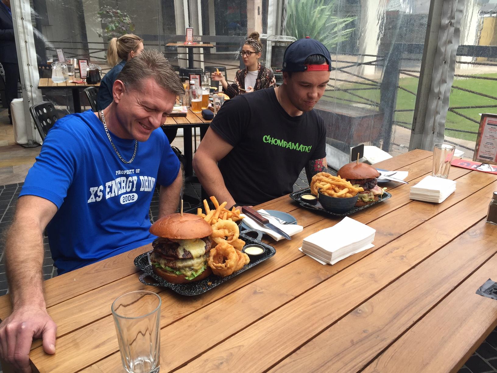 Local hero the winner at Northbridge Brewing Company's Man vs Food challenge