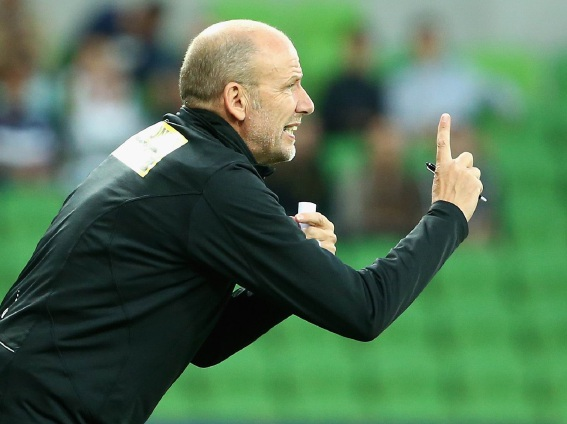 Glory has axed coach Kenny Lowe.